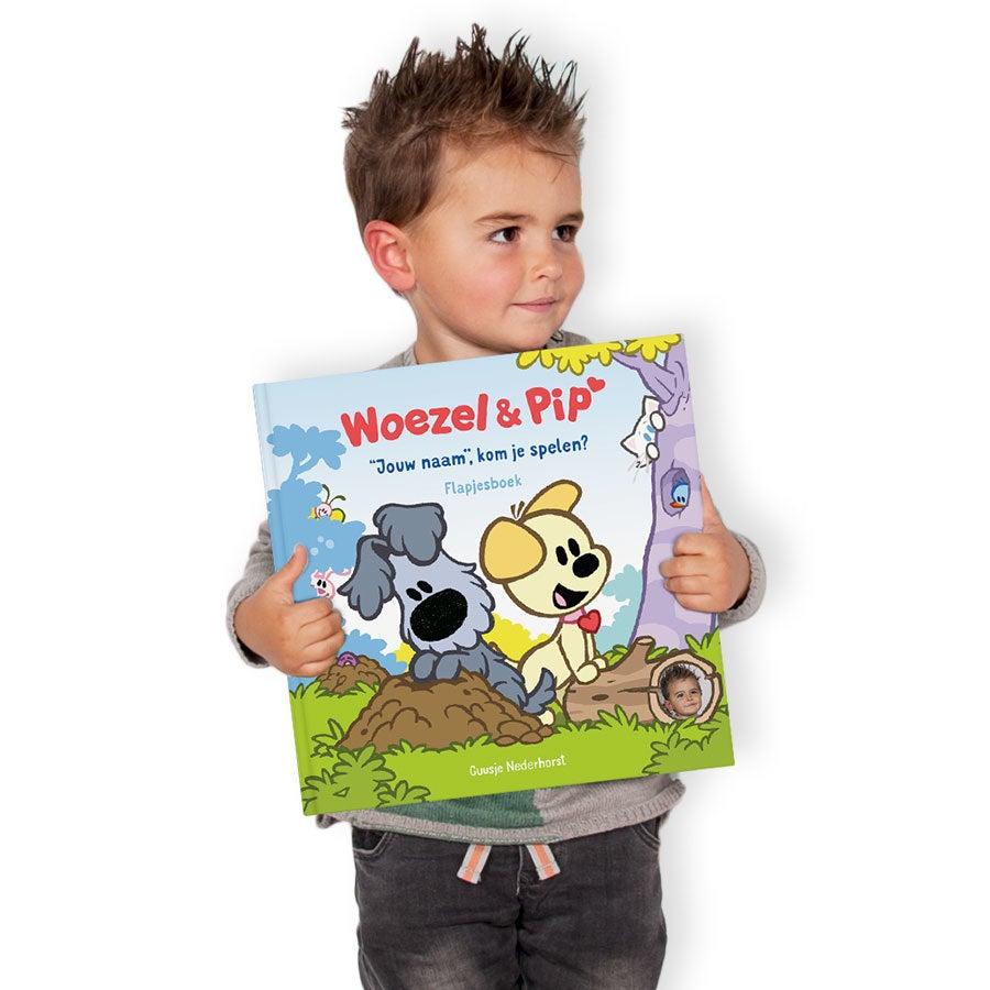 Woezel & Pip XXL flapjesboek - Verstoppertje (HC)
