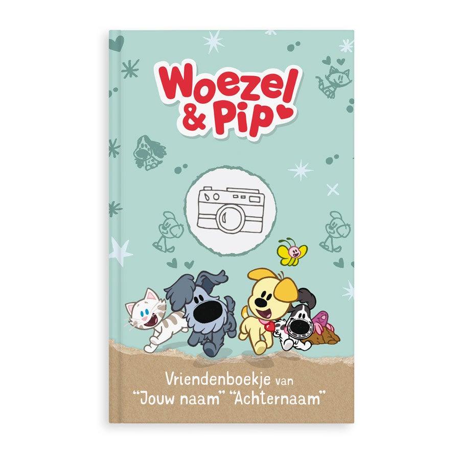 Woezel & Pip vriendenboekje met naam en foto - Hardcover