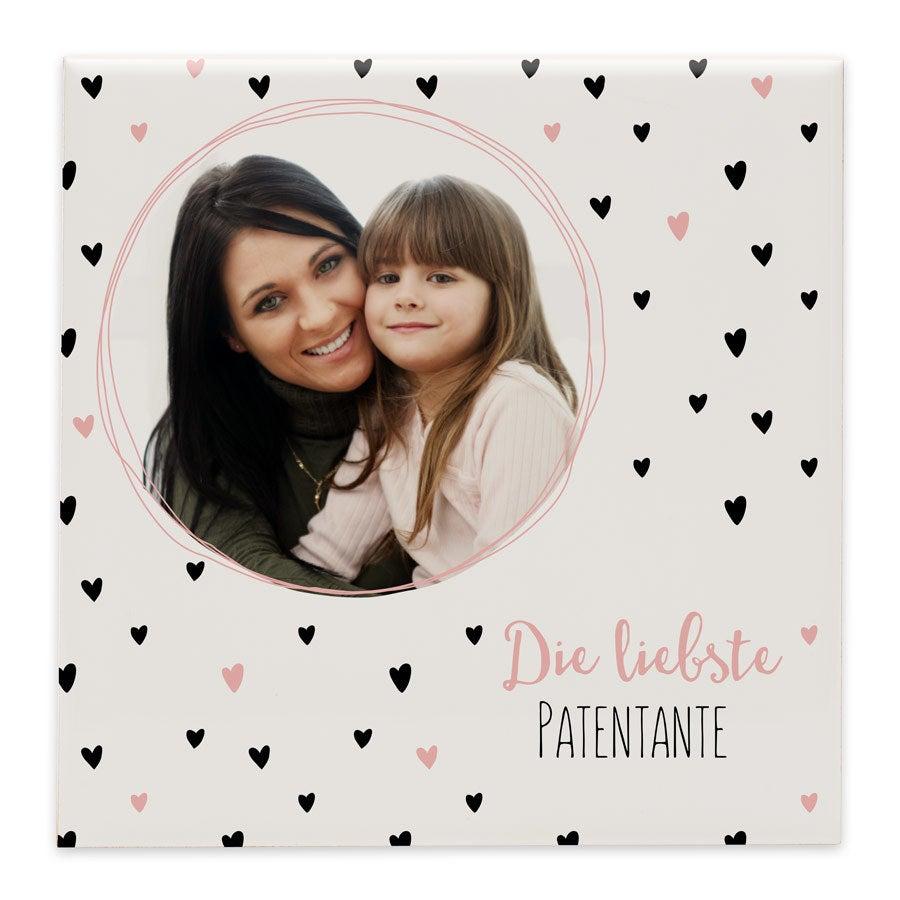 Fotofliese Patentante - Keramik