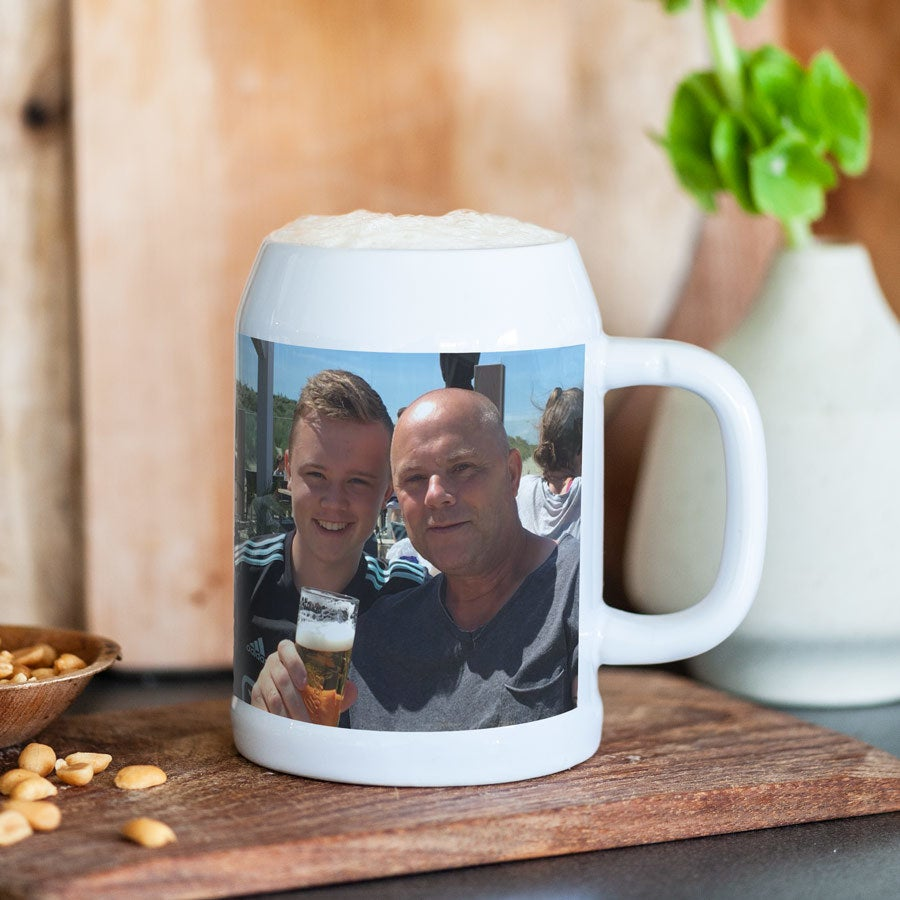 Individuellküchenzubehör - Bierkrug aus Keramik - Onlineshop YourSurprise