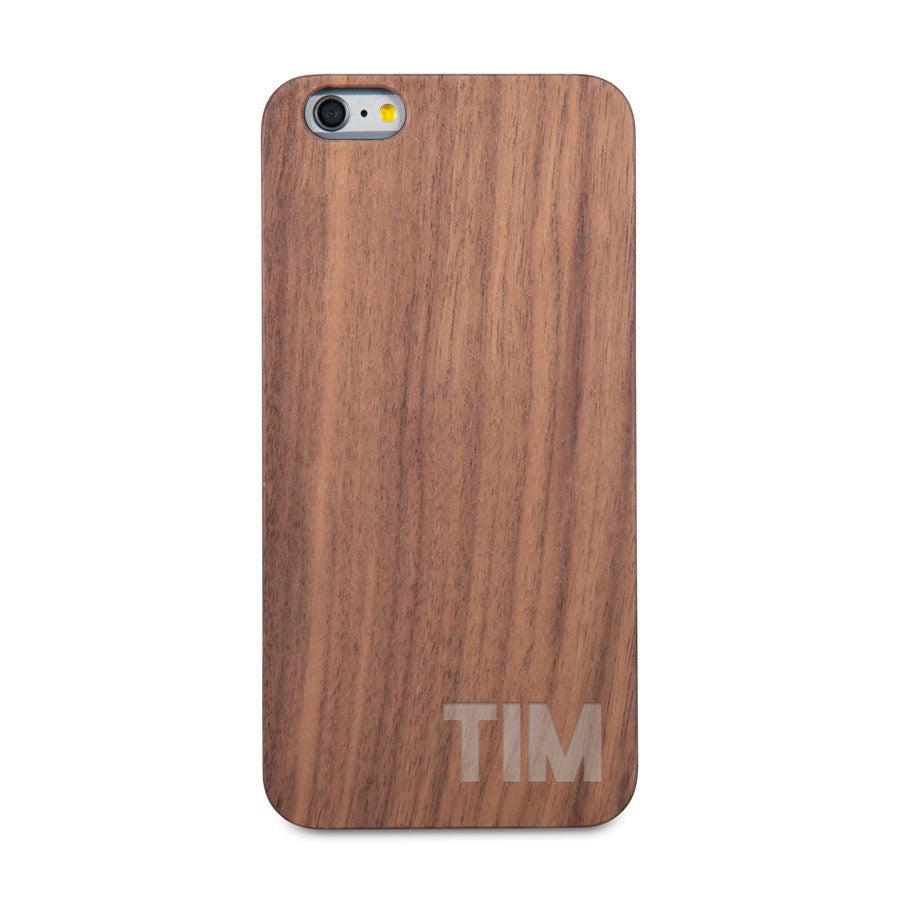 Houten telefoonhoesje - iPhone 6 plus