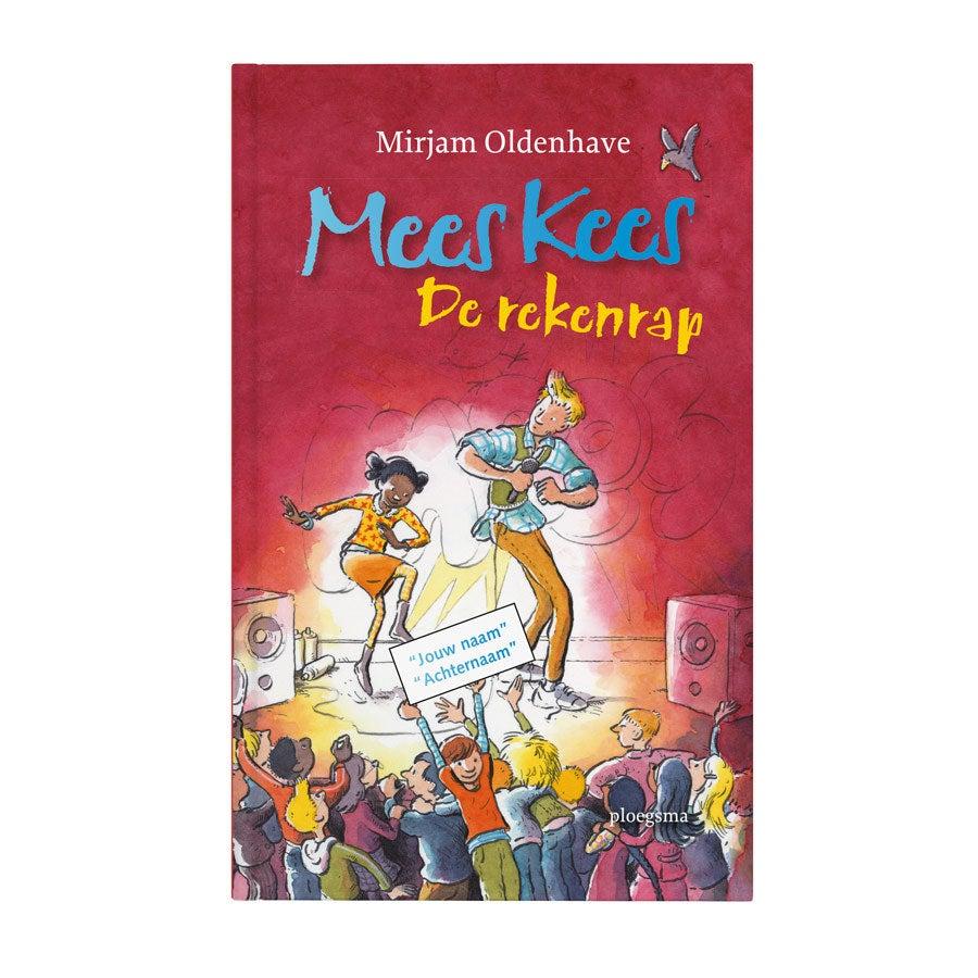 Boek met naam - Mees Kees - De rekenrap - Hardcover