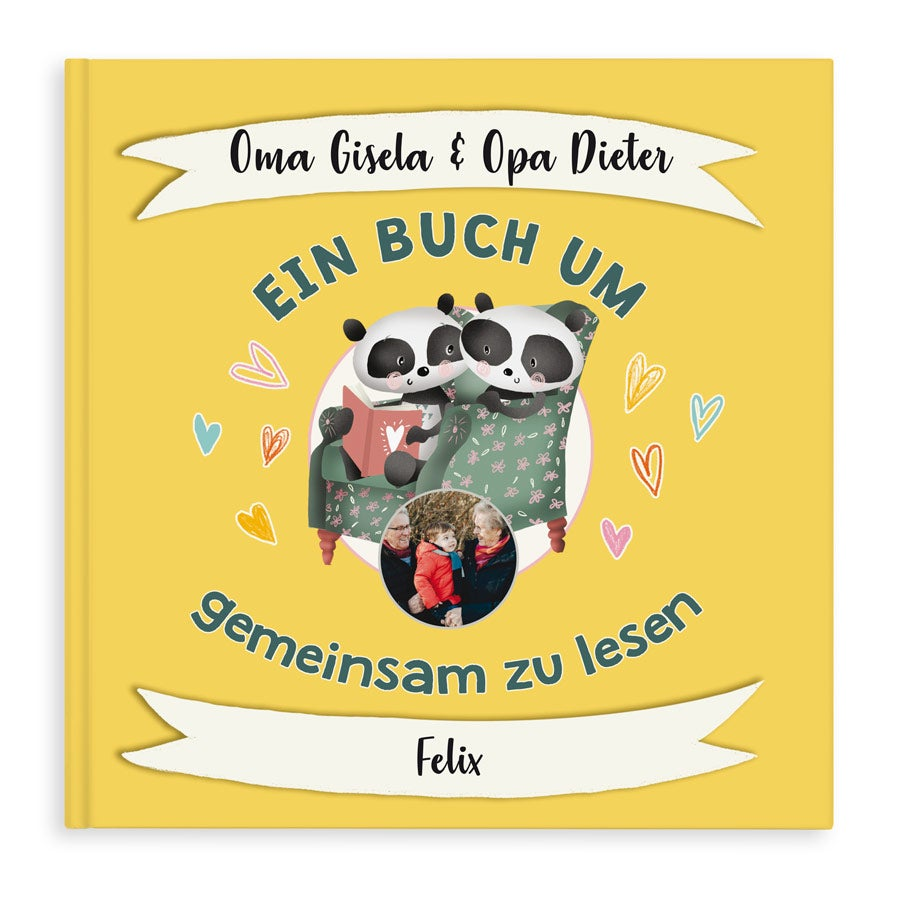 Personalisiertes Buch - Oma & Opa - Hardcover