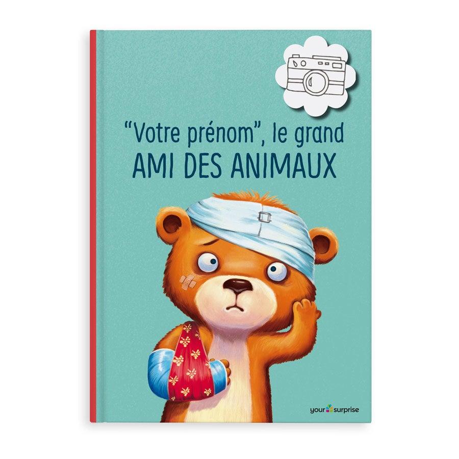 Livre XL personnalisé - Le grand ami des animaux