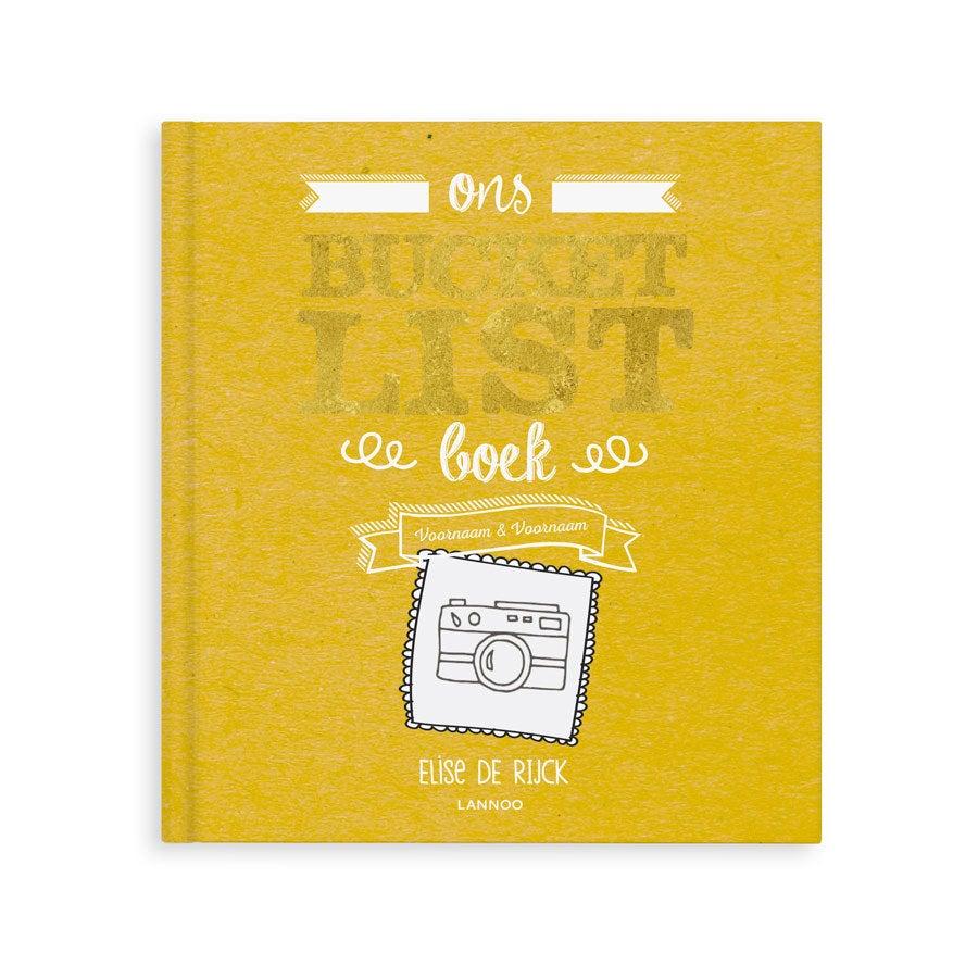 Het Bucketlist boek voor vaders - Hardcover