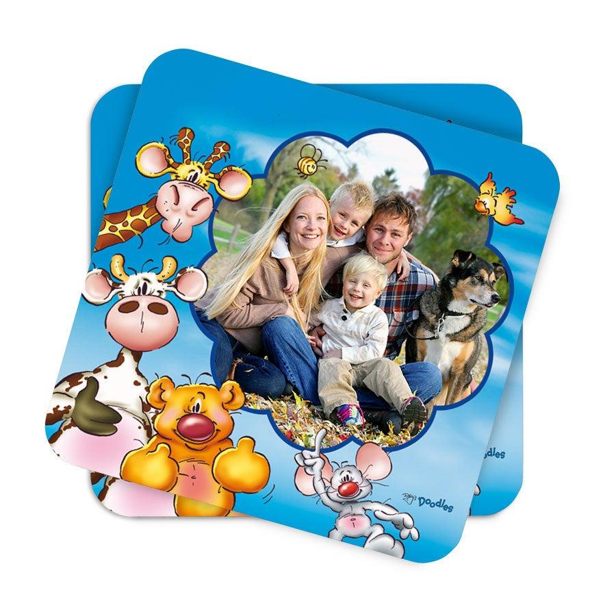 Doodles - Coasters - 2 stk