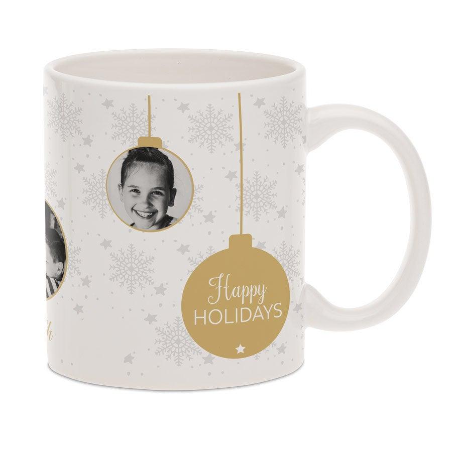 Taza con foto - Blanco - Navidad