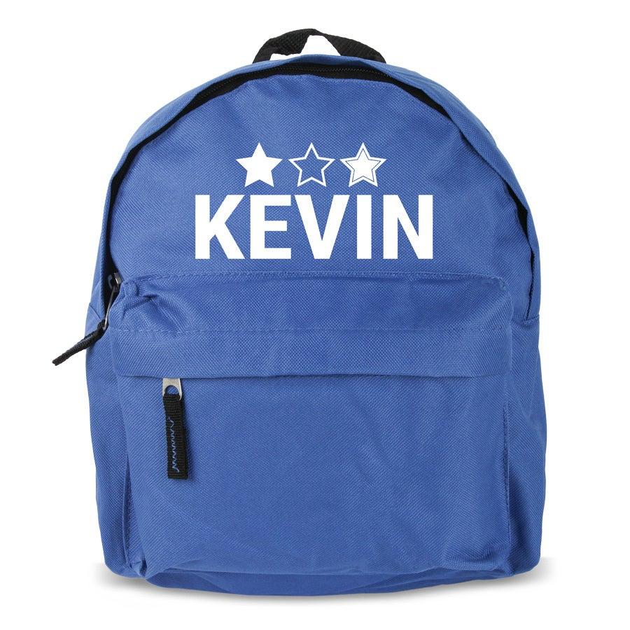Custom kids backpack - Blue