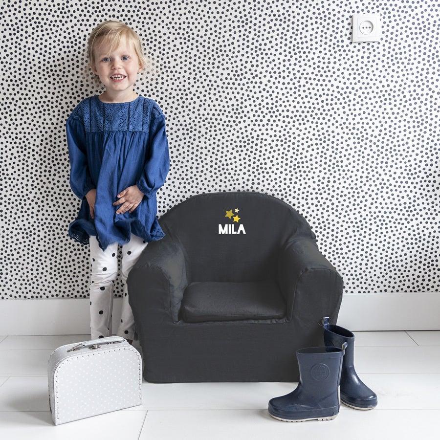Fauteuil enfant - gris