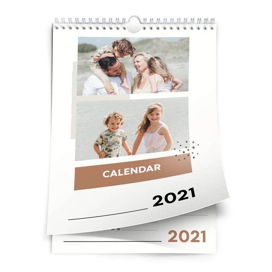 Calendario 2021 - A4 - una cara - vertical