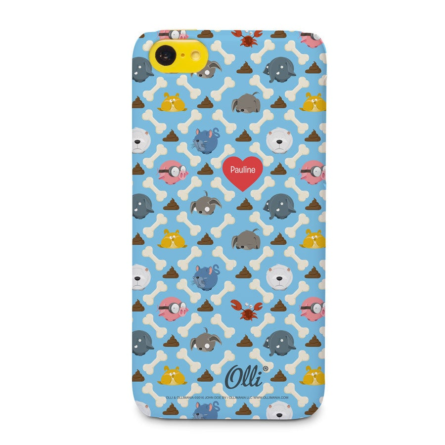 Ollimania - iPhone 5c - photo case 3D print