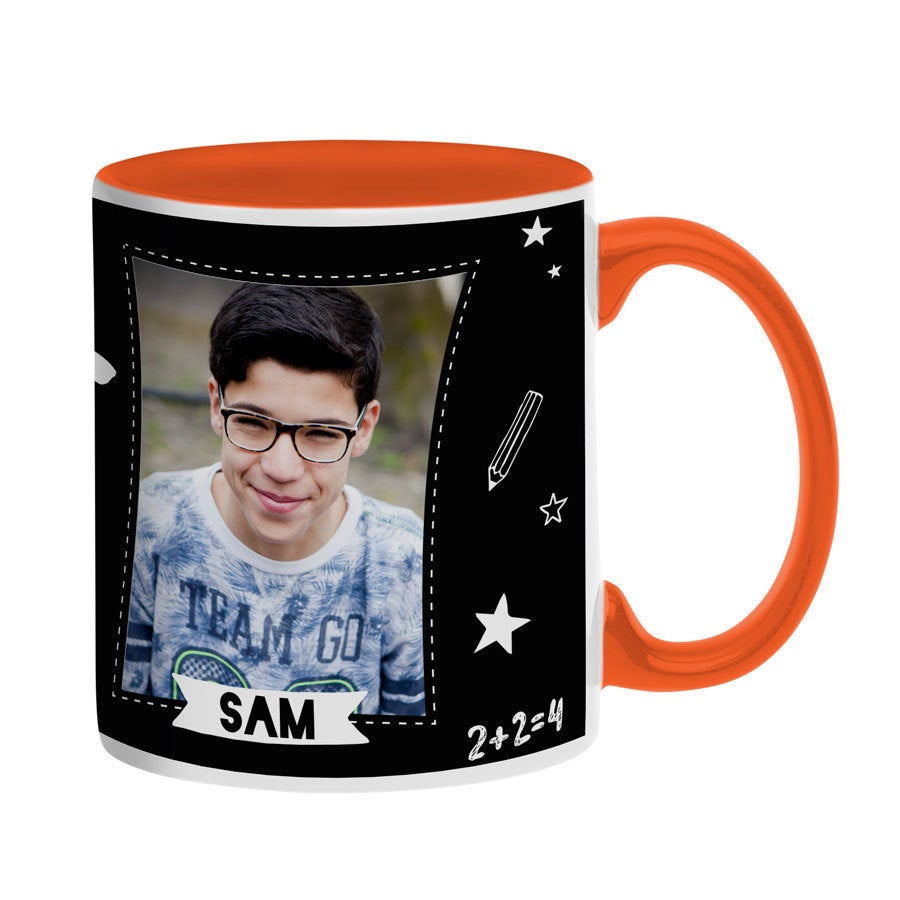 Mug personnalisé - Orange