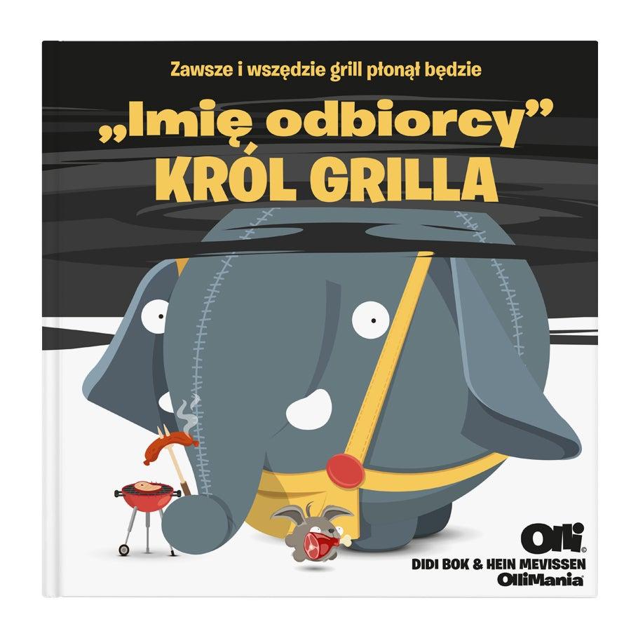 Personalizaowana książka z Ollim dla Króla BBQ