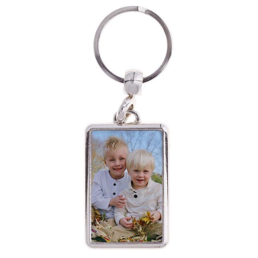 Porte-clé avec photo - Rectangulaire