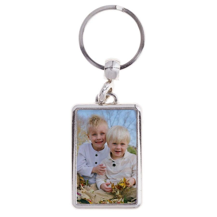 Schlüsselanhänger Foto - Rechteck