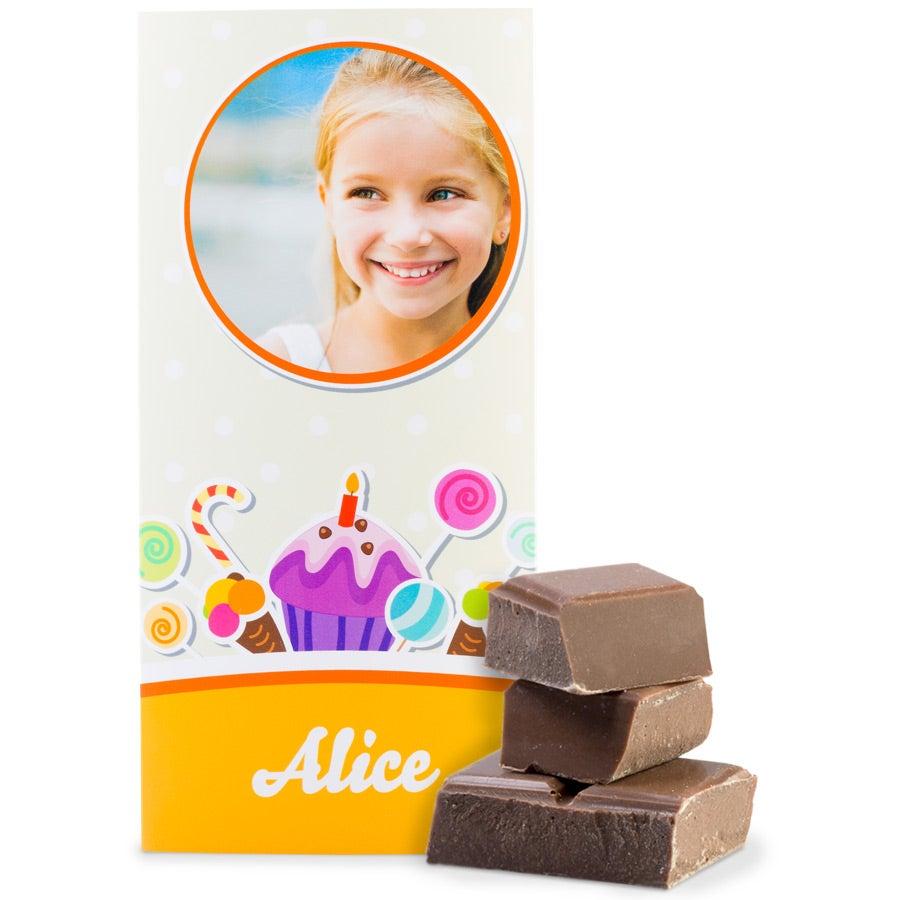 Schokoladentafel - Milch