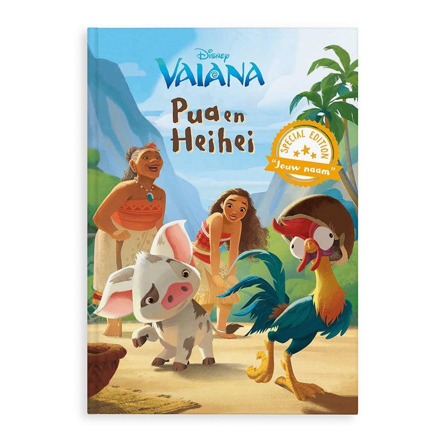 Boek met naam - Disney Vaiana - De verdwenen ketting - XL boek