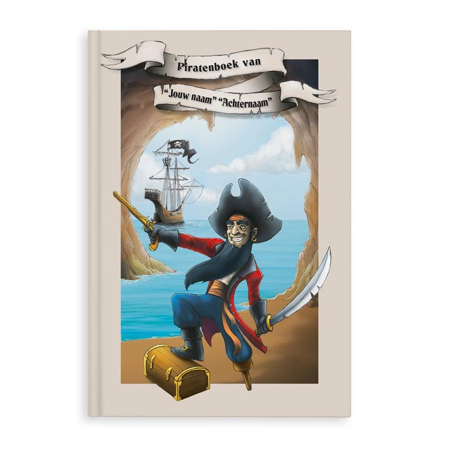 Piraten vriendenboekje met naam en foto - Softcover