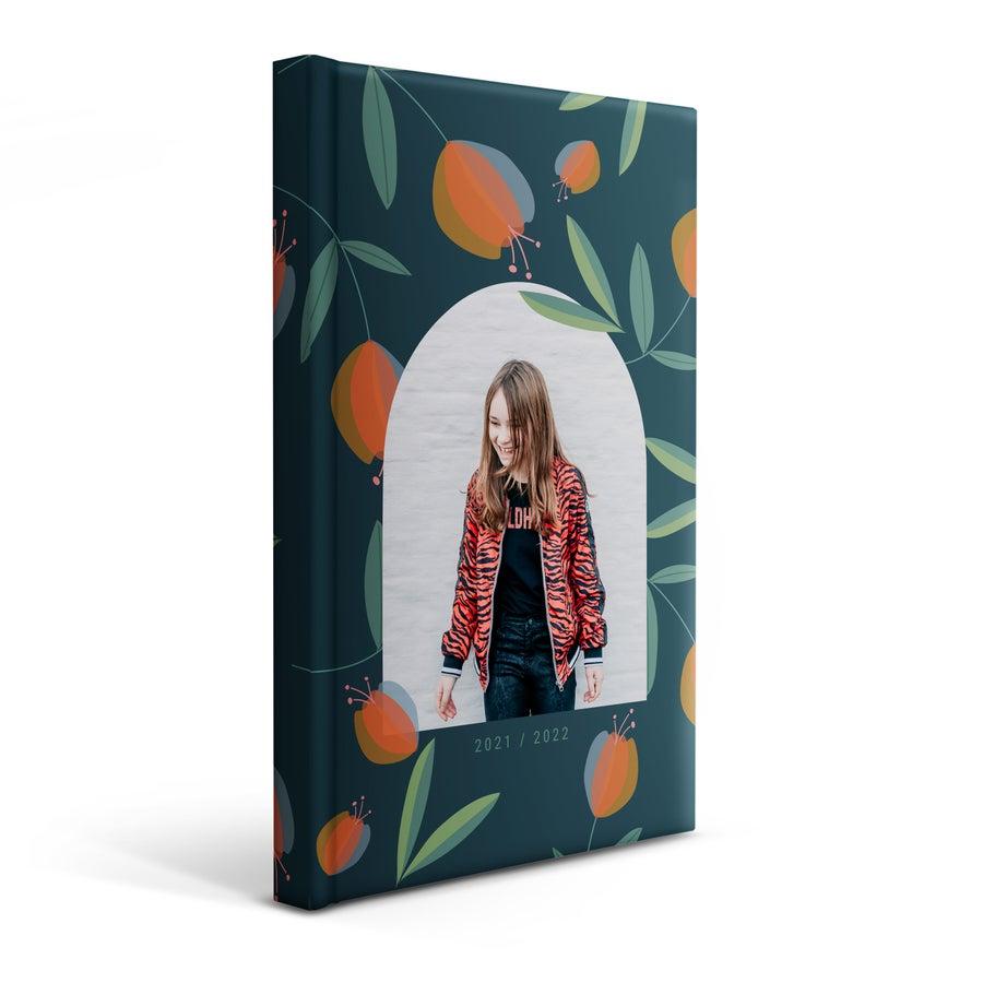Personlig skole dagbok 2021/2022 - Mykt cover