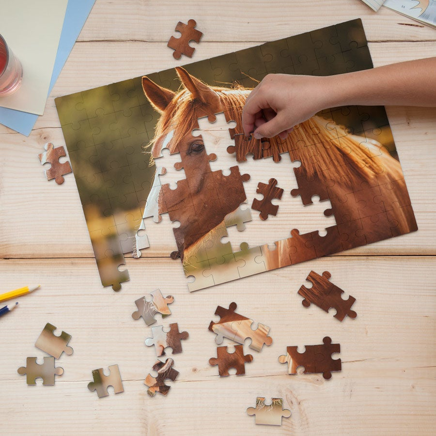 Luxe puzzel - 96 stukjes