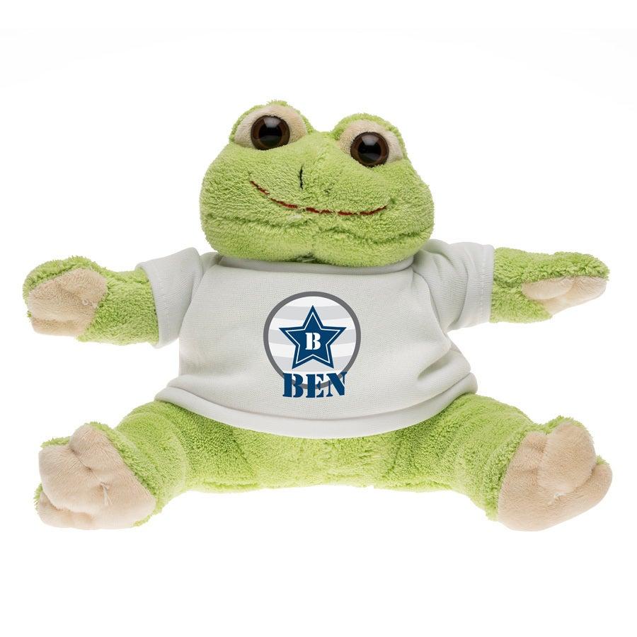 Miękka zabawka - żaba