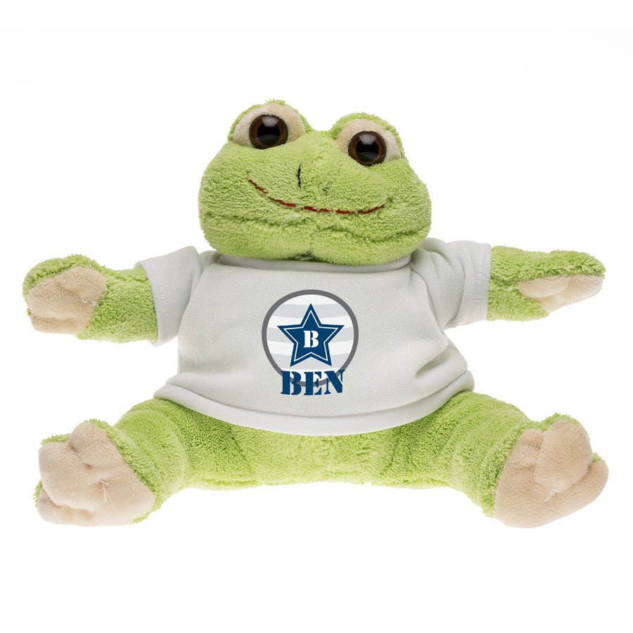 Pehmeä lelu - sammakko