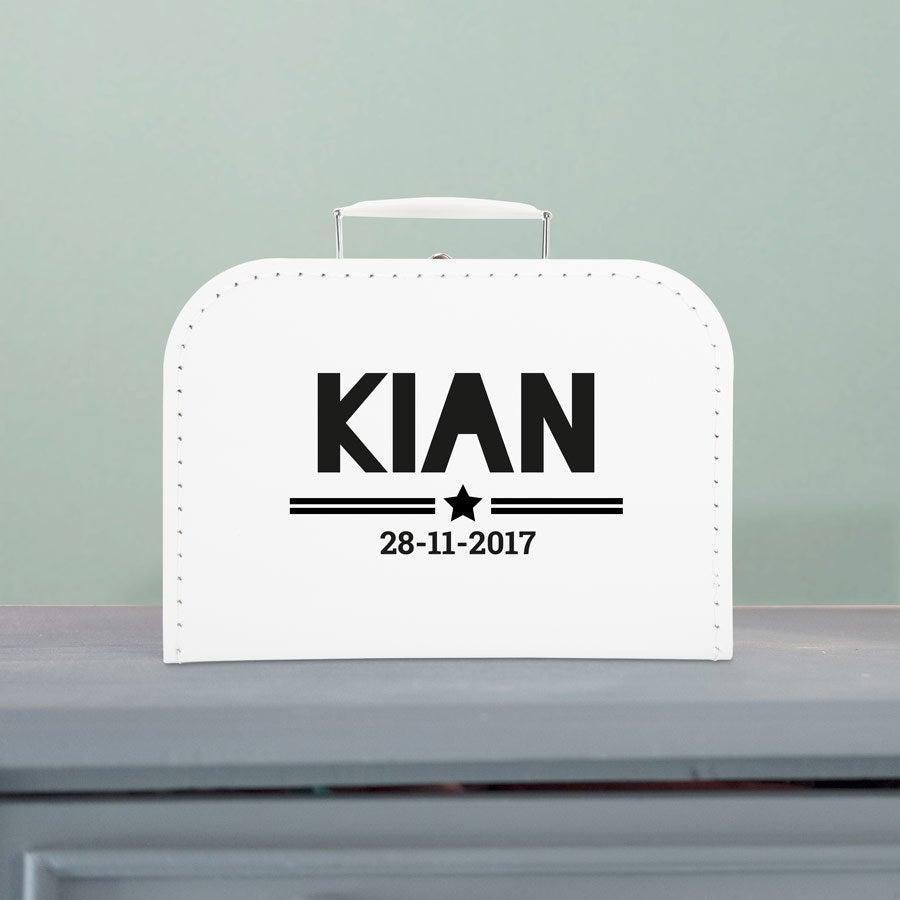Barnas koffert - Hvit - Medium