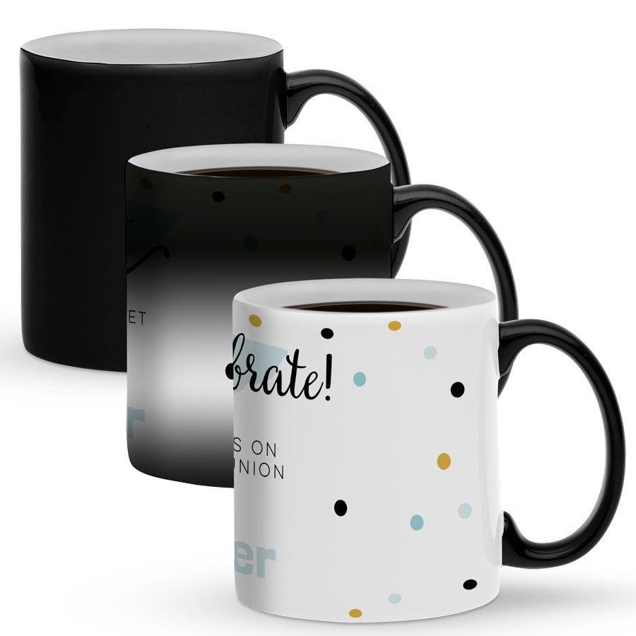 Tazze Da Te Personalizzate tazza magica personalizzata