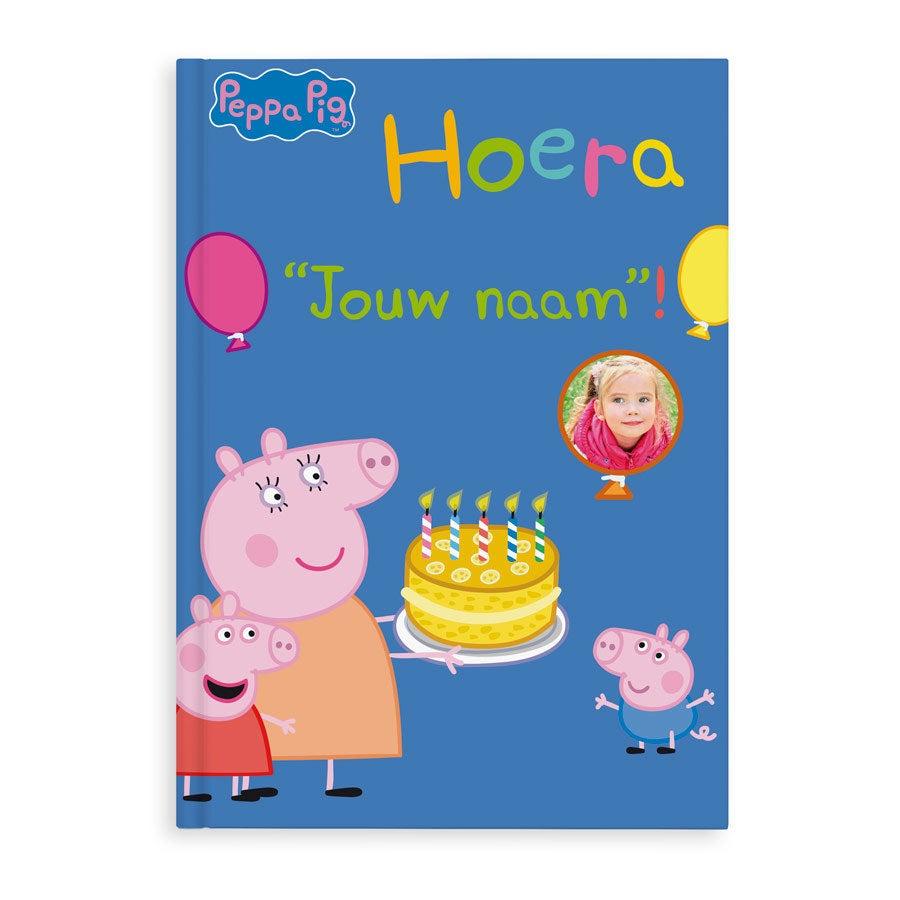 Boek met naam - Peppa Pig - Hoera! - Softcover