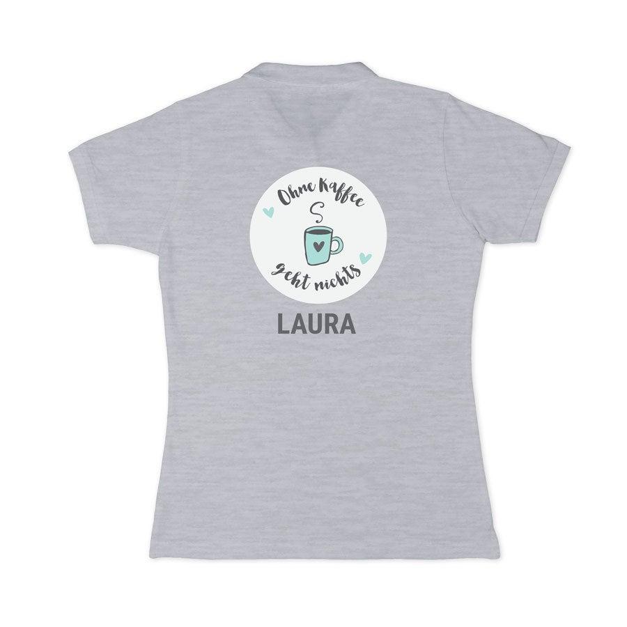 Poloshirt Damen - Grau - S