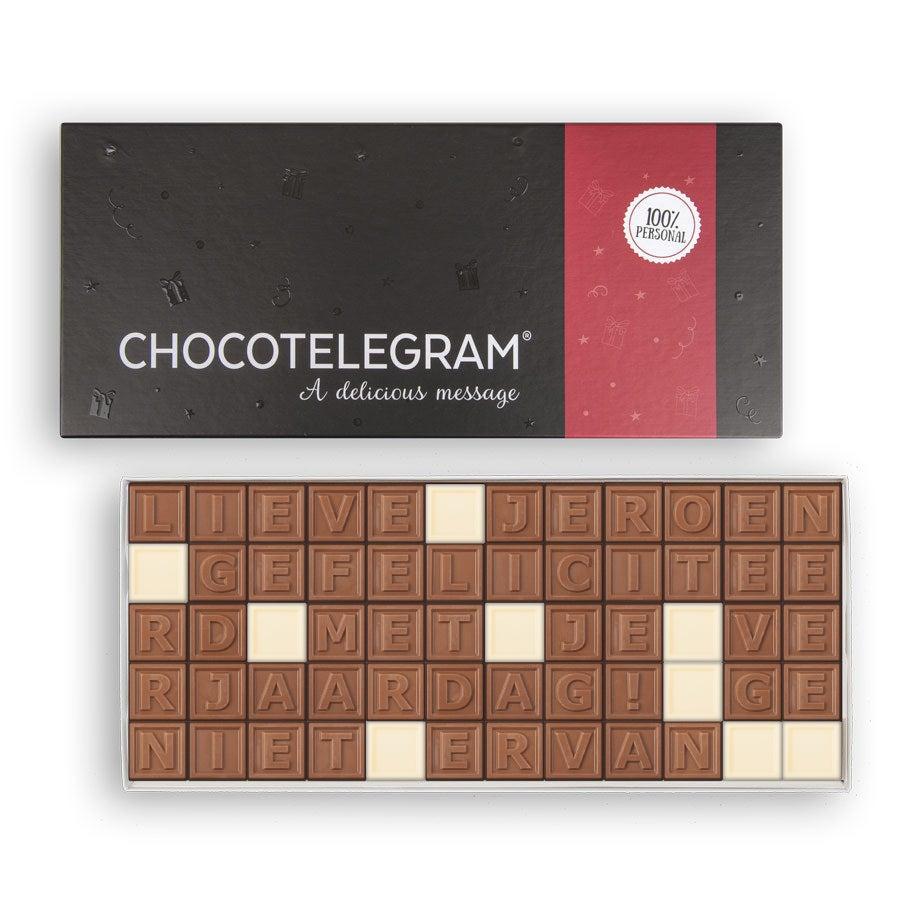 Chocotelegram - 60 letters