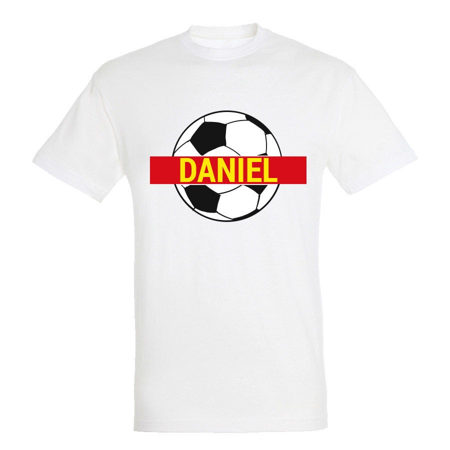 Camiseta de la Copa Mundial de fútbol - Unisex - Blanca - S