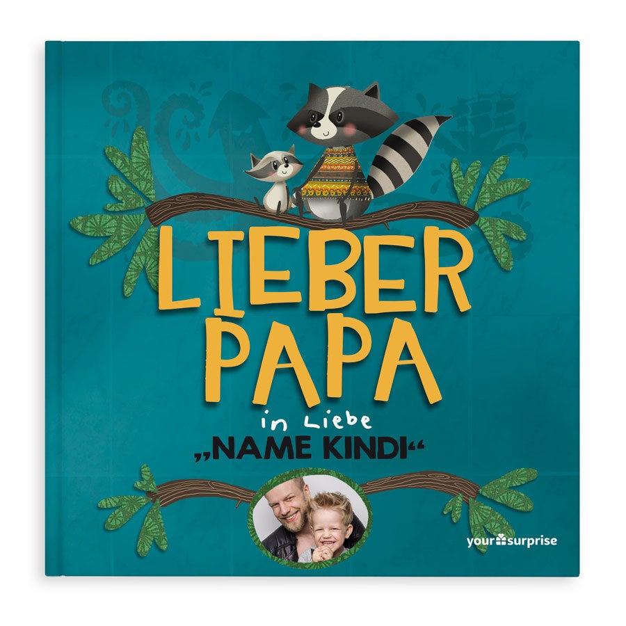 Buch mit Namen - Lieber Papa - Hardcover