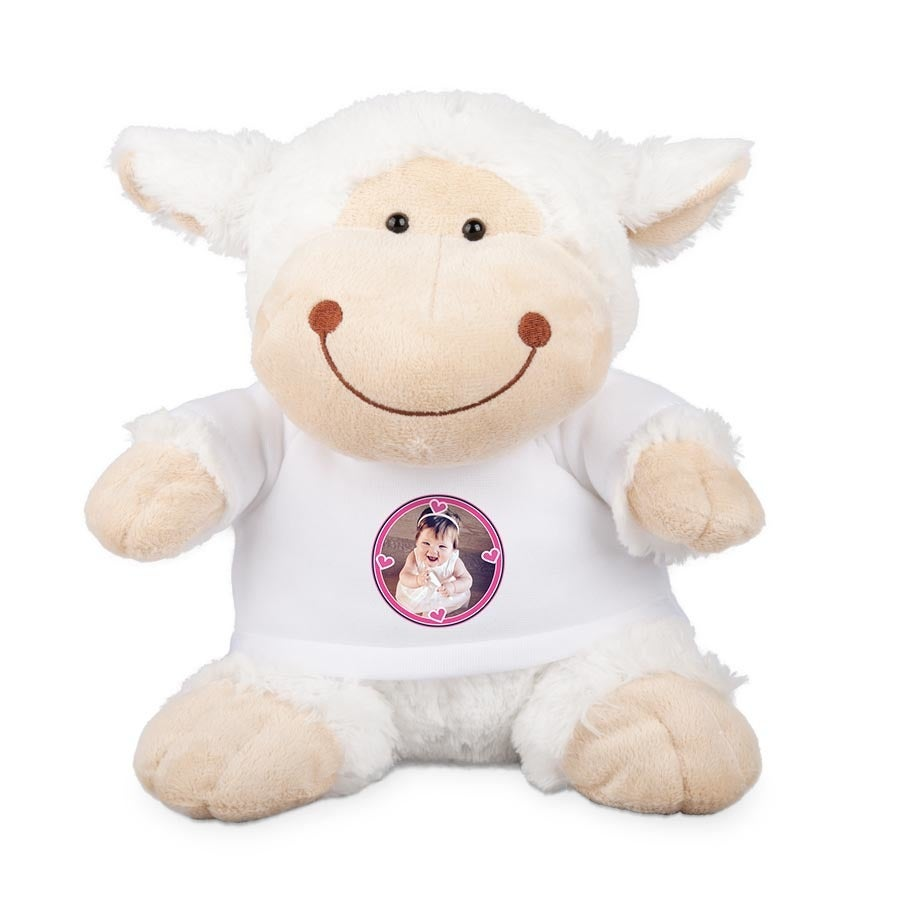 Peluche con camiseta personalizada - Oveja