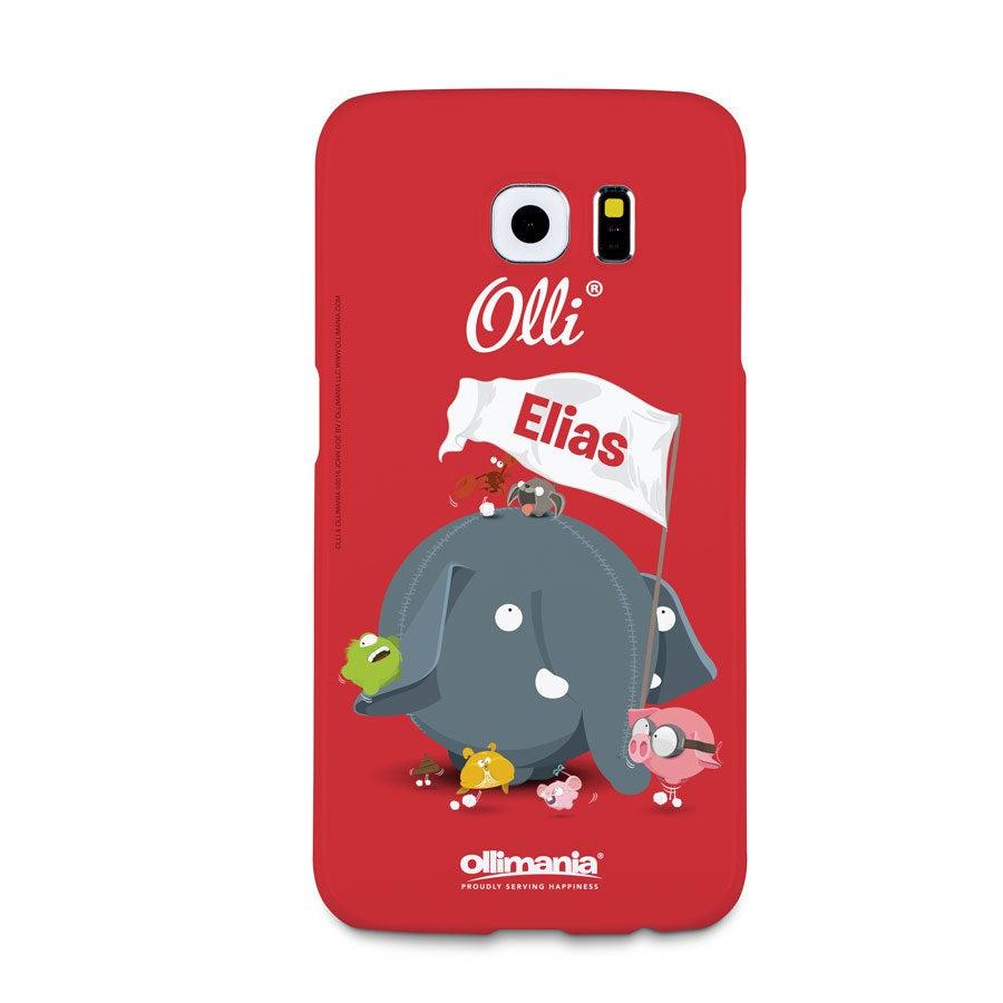 Olli - Samsung Galaxy S6 - foto case rondom bedrukt