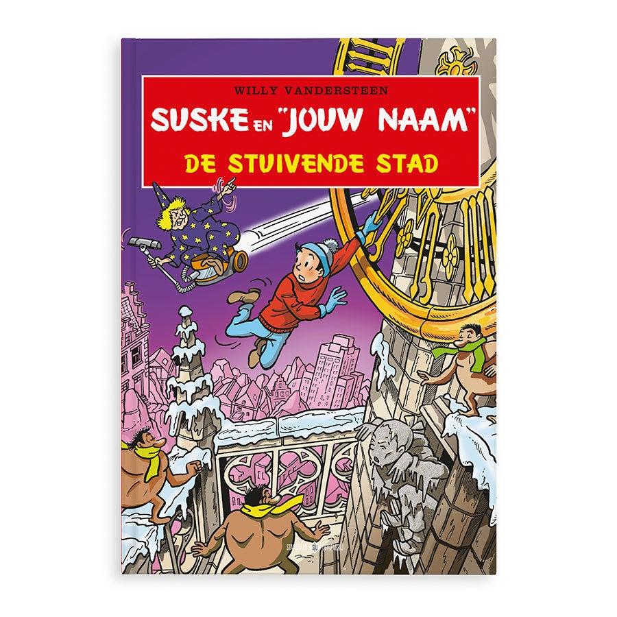 Suske en Wiske - De Stuivende Stad - Hardcover
