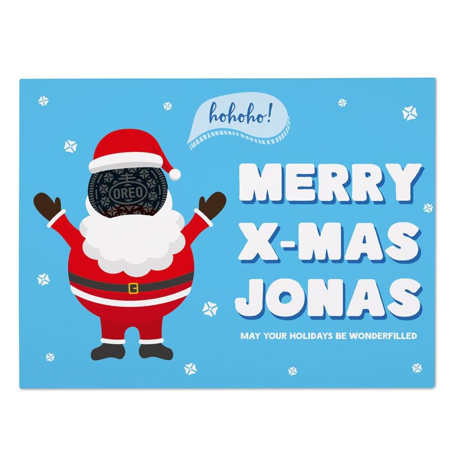 Oreo Geschenk - Weihnachten
