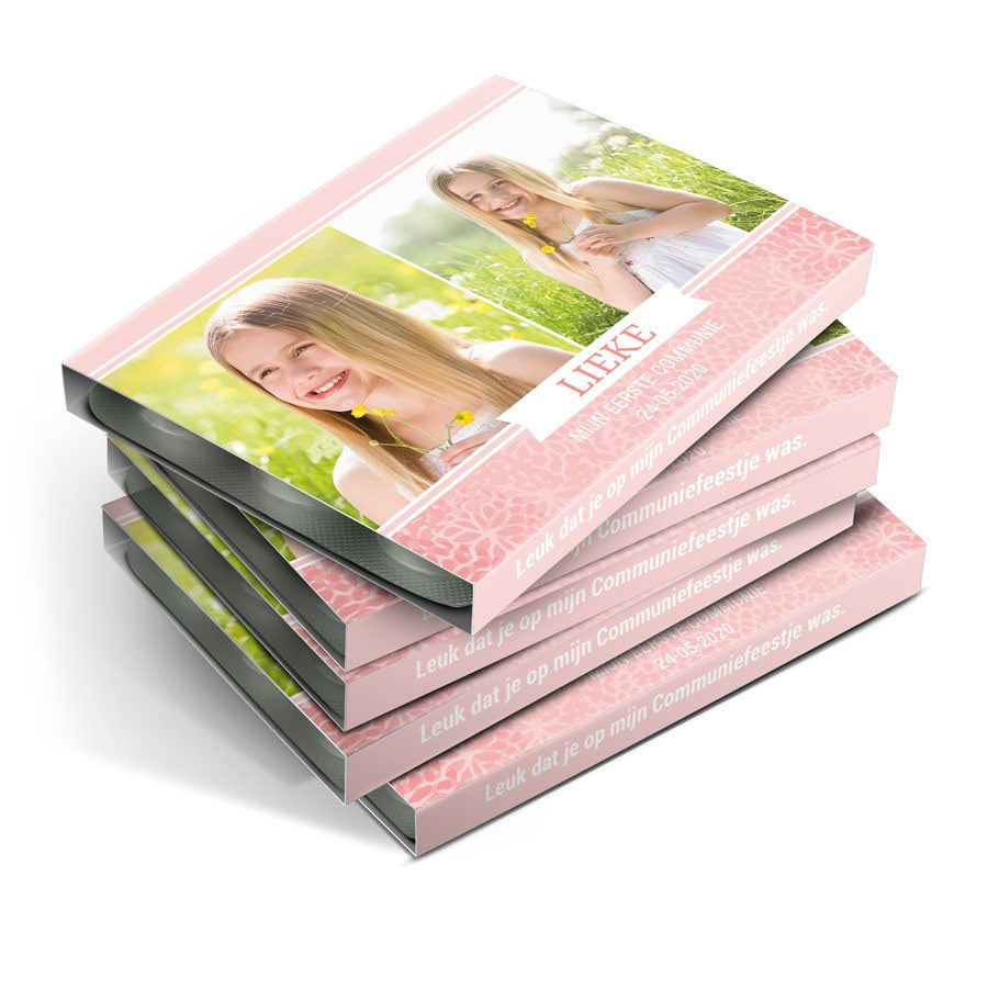 Mentos communie kauwgompakjes bedrukken - 120 stuks