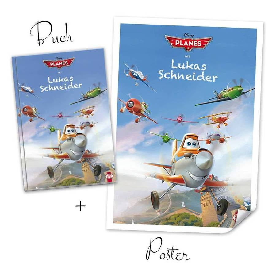 Disney XXL book - Planes + Poster