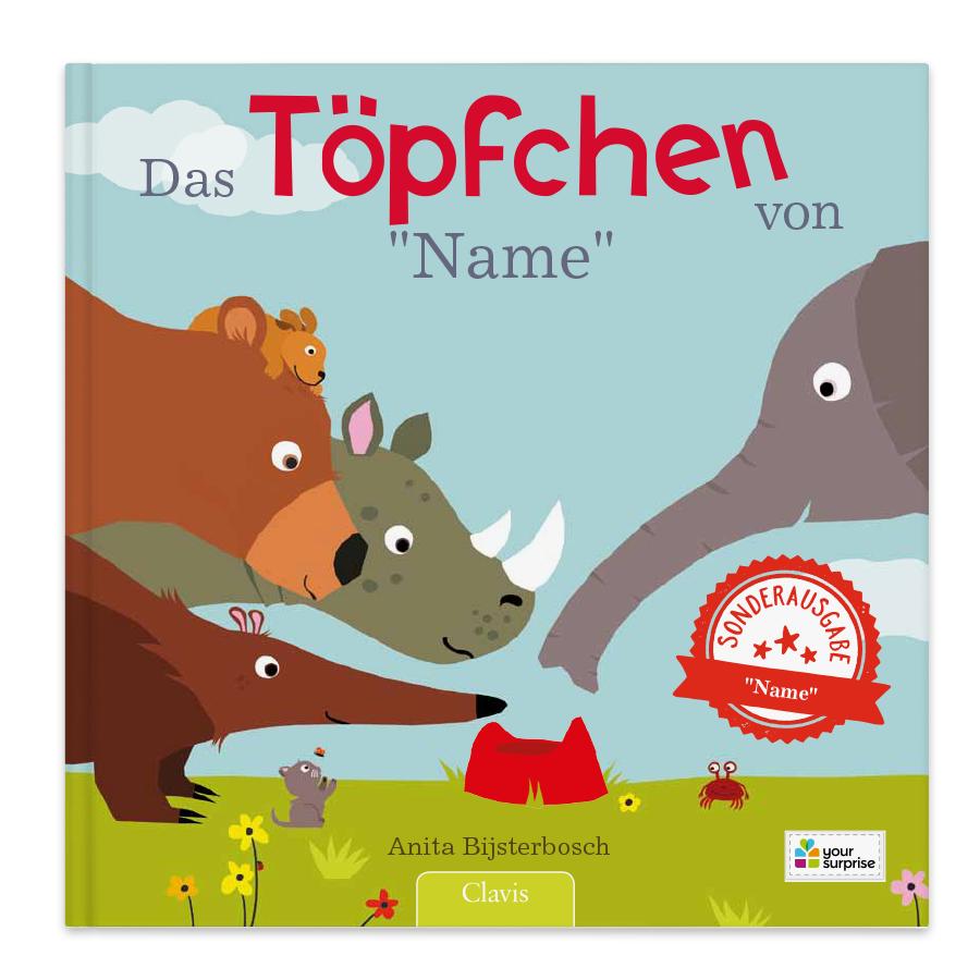 Kinderbuch - Das Töpfchen von... - Hardcover