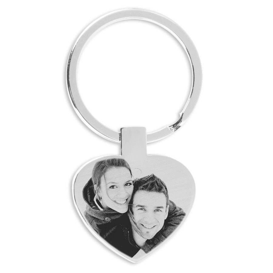 Key Ring – Heart (Engraved)