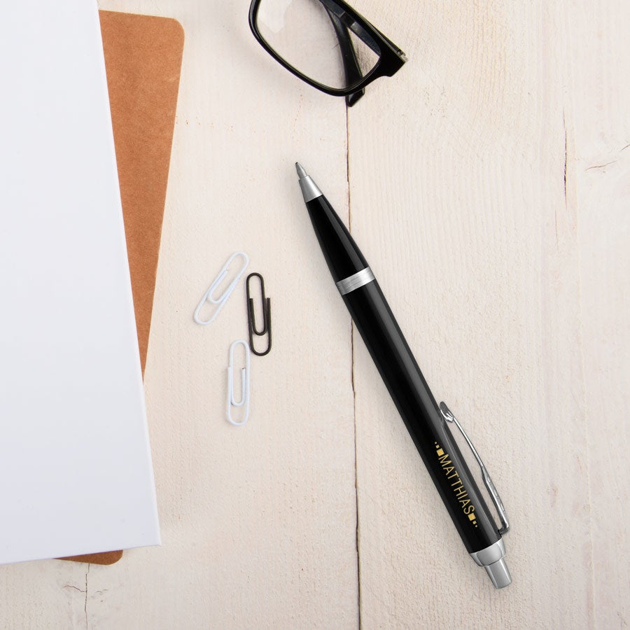 Parker - IM - Kugelschreiber - Rechtshänder (Schwarz)