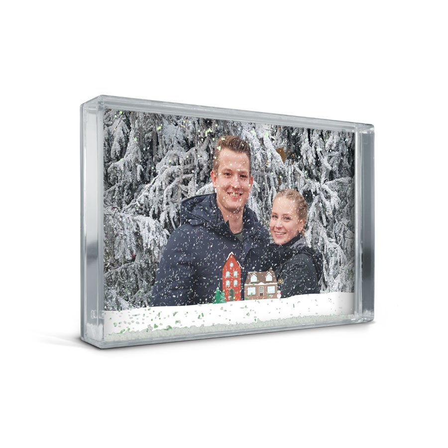 Sněhový foto blok