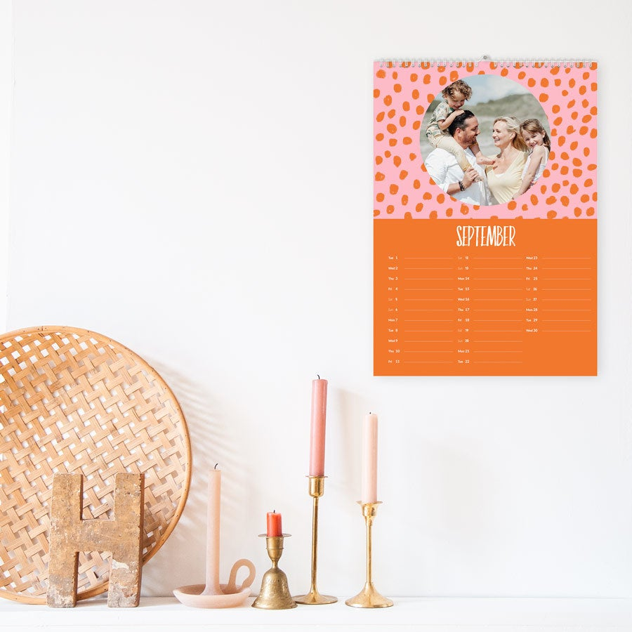Kalender 2020 - A3 - ensidig - vertikal