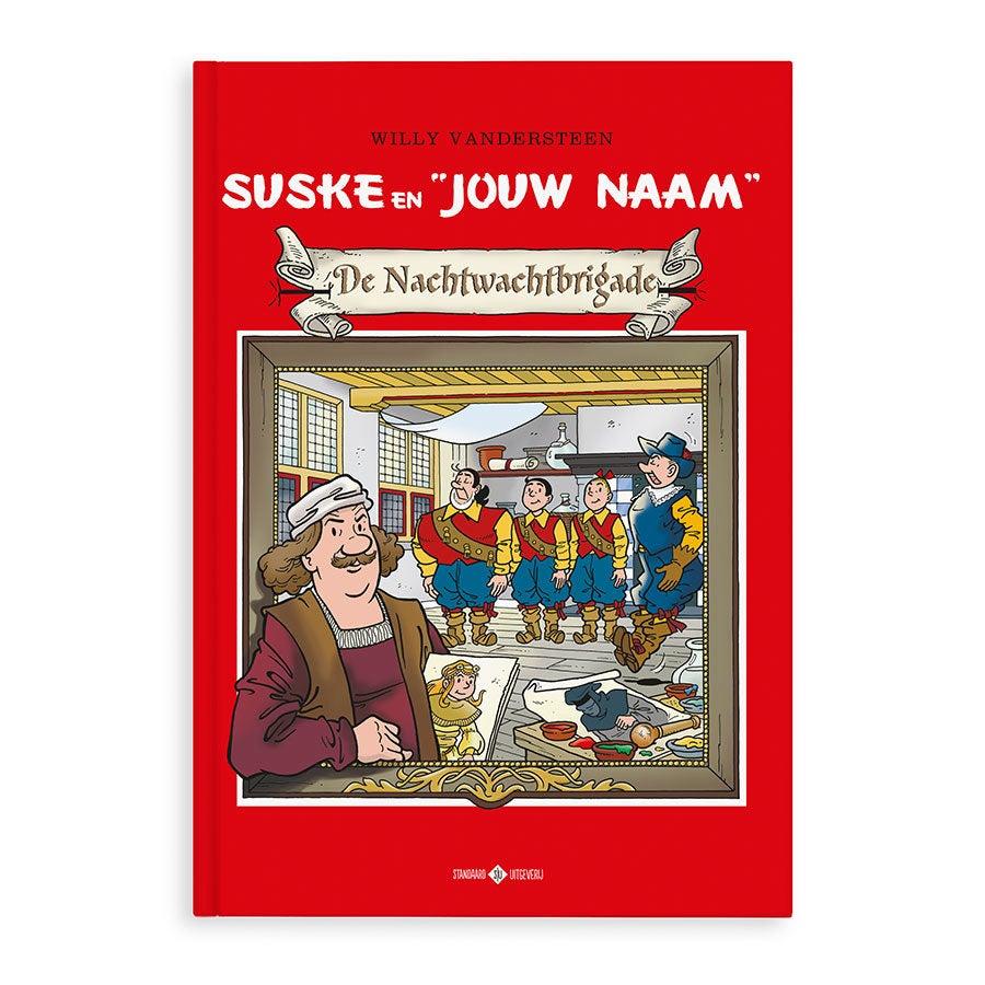 Persoonlijk stripboek - Suske en Wiske 'De Nachtwachtbrigade' (Hardcover)