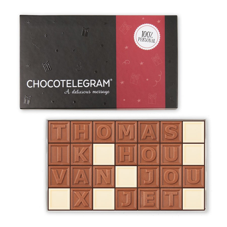 Chocotelegram - 28 letters