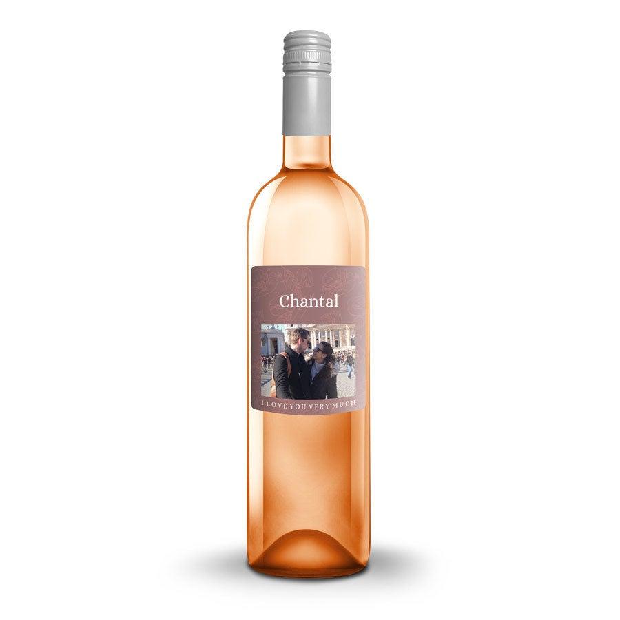Wijn met bedrukt etiket - Ramon Bilbao Rosado