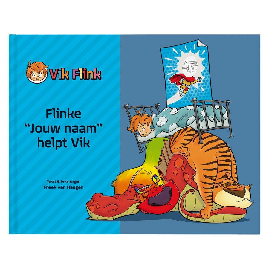 Boek met naam - Vik Flink - Hardcover
