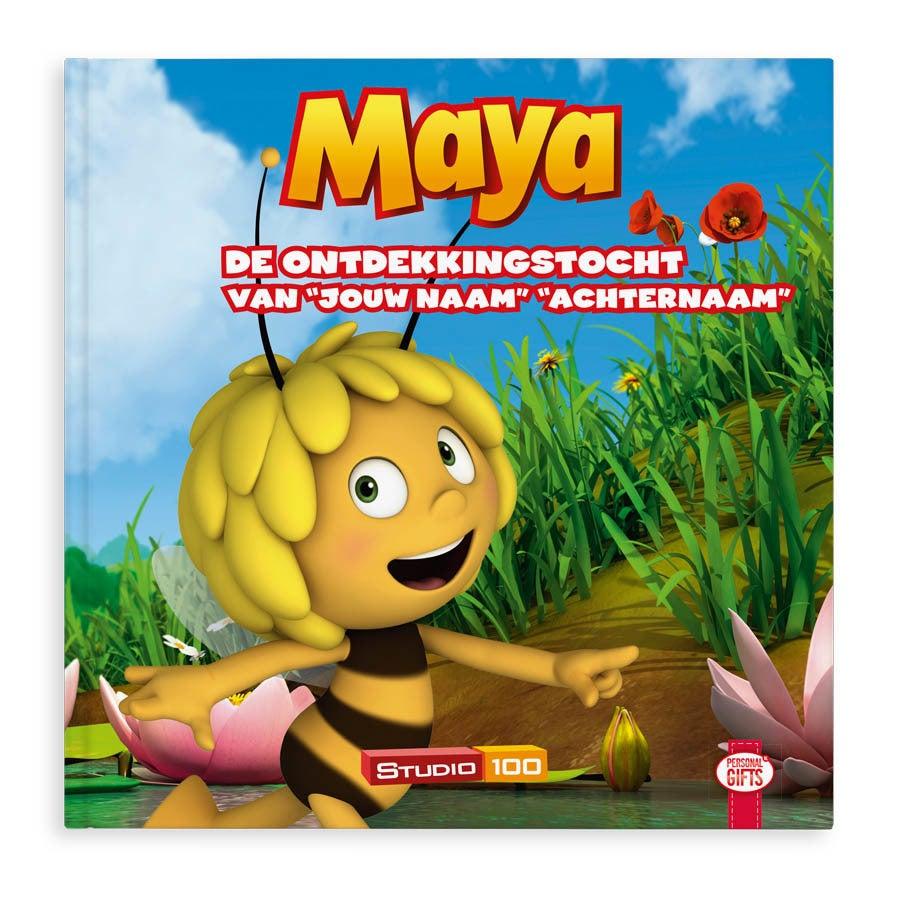 Maya de Bij de ontdekkingstocht - flipboek