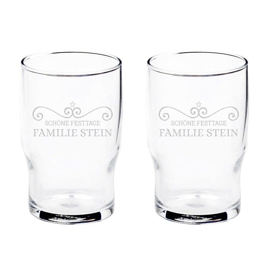 Individuellküchenzubehör - Wasserglas Basic 2 Stück - Onlineshop YourSurprise